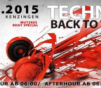 25.07.2015 // Sascha Ciccopiedi @ Techno goes back to the ROOTS // Roots, Kenzingen