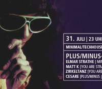 31.07.2015 // Matt K, Zirkeltanz @ Plus/Minus – Köln Connection /with Elmar Strathe (Minus) // Red Cat, Mainz