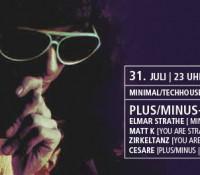 31.07.2015 // Matt K, Zirkeltanz @ Plus/Minus – Köln Connection /with Elmar Strathe (Minus) // Red Cat, Mainz
