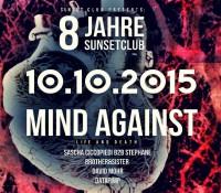 10.10.2015 // Sascha Ciccopiedi @ 8 Jahre SUNSET CLUB // Gotec Club, Karlsruhe
