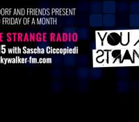 20.11.2015 // YOU ARE STRANGE RADIO w/ SASCHA CICCOPIEDI