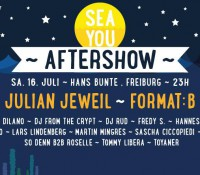 16.07.2016 // Sascha Ciccopiedi @ Sea You Aftershow at Hans Bunte Areal // Freiburg