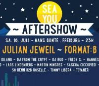 16.07.2016 // Sascha Ciccopiedi @ Sea You Aftershow at Hans Bunte Areal // Freiburg