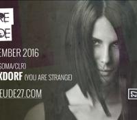 09.12.2016 // You Are Strange w/ Rebekah, Sophie Nixdorf