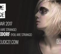 07.01.2017 // You Are Strange w/ Matt K & Sophie Nixdorf // Gebaeude27, Mainz