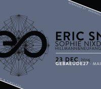 23.12.2016 // Eric Sneo & Sophie Nixdorf at Gebaeude27, Mainz
