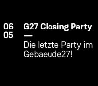 06.05.2016 // Sophie Nixdorf @ R.I.P G27 — Gebaeude27 Closing Party, Mainz