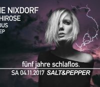 04.11.2017 // Sophie Nixdorf @ 5 Jahre schlaflos. // Salt & Pepper, Pforzheim