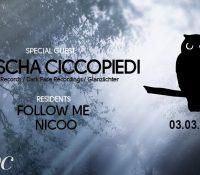 03.03.2018 // Sascha Ciccopiedi @ Folie Constante // Bar Club, Lausanne